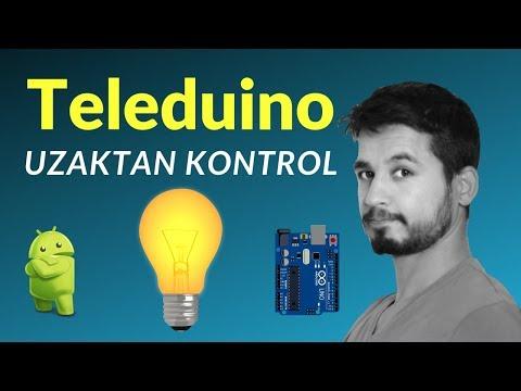 Teleduino ile Uzaktan Kontrol | Arduino'yu İnternete Bağlamak | Arduino Ethernet Shield