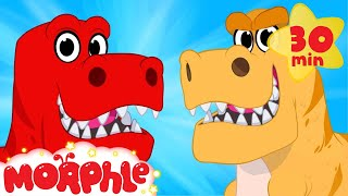 My Pet Dinosaur Morphle Goes Back In Time - My Magic Pet Morphle animations for kids with dinosaurs