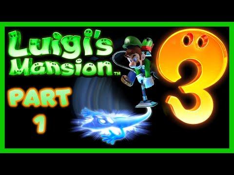 Barb plays Luigi's Mansion 3 Part 1 -  Pure TERROR