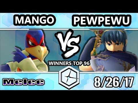 Shine 2017 SSBM - C9 Mang0 (Falco) vs CLG.PewPewU (Marth) - Melee Winners