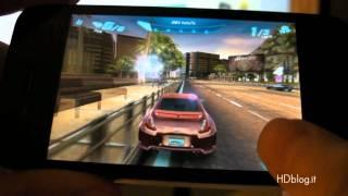 Asphalt 6 iPhone 4 Gameplay