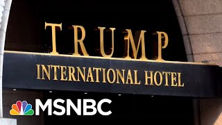 Maryland AG: Trump First Person In History To Profiteer From This Higher Office | MTP Daily | MSNBC