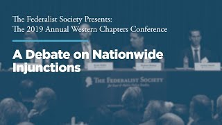 Click to play: Panel One: Debate on Nationwide Injunctions
