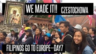 Filipinos go to Czestochowa, Poland—Philippines to Poland Day 7!