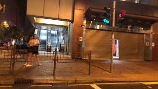 荃灣直擊白衫人持械出擊/記者遭到襲擊