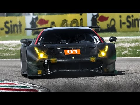[3D Binaural Audio] Ferrari 488 GTE Evo and Ford GT LM (WEC & IMSA) testing! April 2019