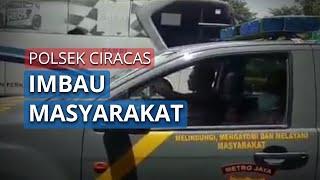 Cegah Penyebaran Covid-19, Polsek Ciracas Imbau Warga Terminal Kampung Rambutan dengan 3 Hal