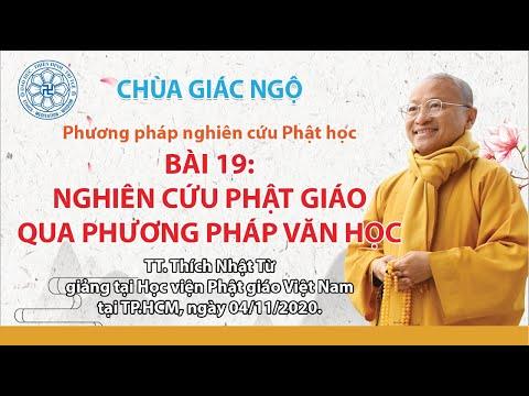 Nghiên cứu Phật giáo qua phương pháp Văn học - Phương pháp Nghiên cứu Phật học