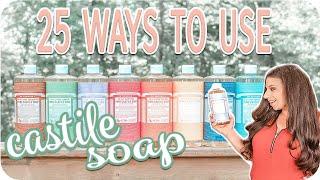 Dr Bronners Castile Soap | What Is Castile Soap | Homemaker Tips