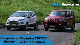 Mahindra TUV300 vs Ford EcoSport - Comparison Review   MotorBeam