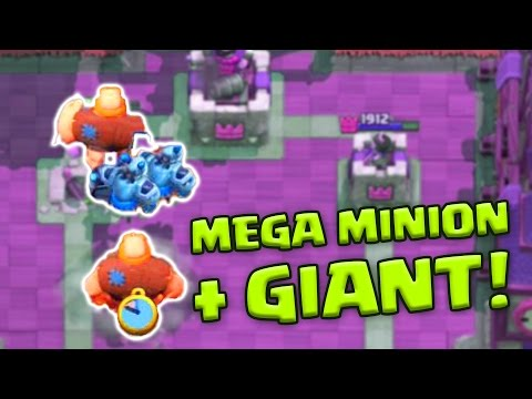 🔴 Clash Royale Mega Minion Giant Deck Op Mega Krasse Kombination Ottovanthom