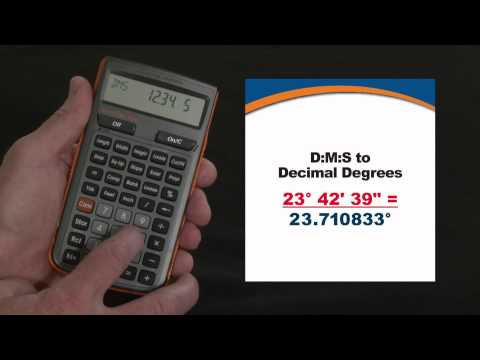 HeavyCalc Pro - D:M:S To Decimal Degrees