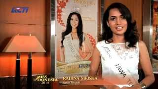 Raihna Meiska Pasaribu for Miss Indonesia 2015