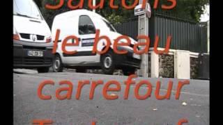preview picture of video 'Rue Rochebrune la nouvelle autoroute de Rosny-sous-Bois 93'