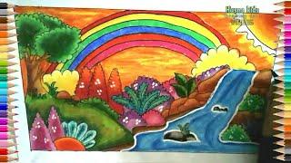 Cara Menggambar Sungai ฟรวดโอออนไลน ดทวออนไลน คลป