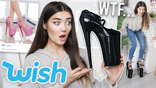 TRYING VERY WEIRD SHOES FROM WISH... WTF ARE THOSE!?