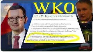 Dr Z. Kękuś (PPP 273) Prokurator, a wszystko kalkulujący Morawiecki. Polska WKO. Usprawiedliwienie…