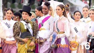 Miss Universe 2018 in Royal Winter Festival Costume - มิสยูนิเวิร์สร่วมงานอุ่นไอรัก คลายความหนาว