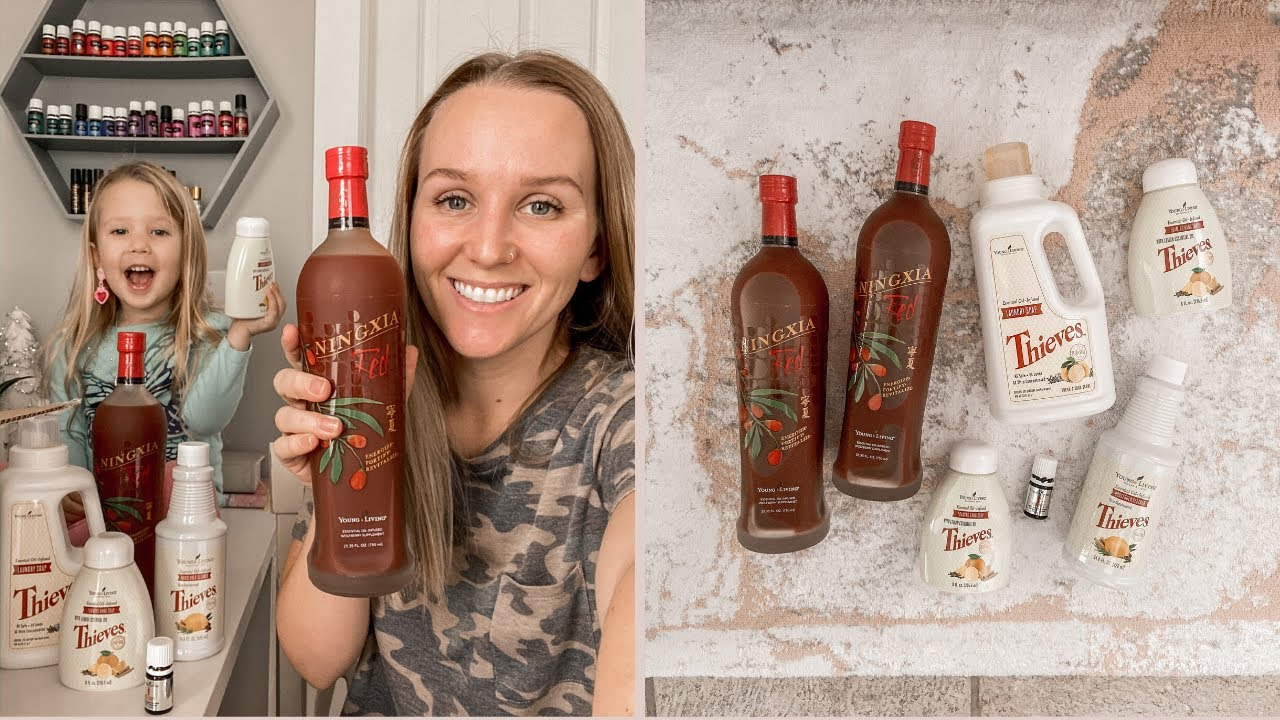 Young Living Order Unboxing Cyber Monday