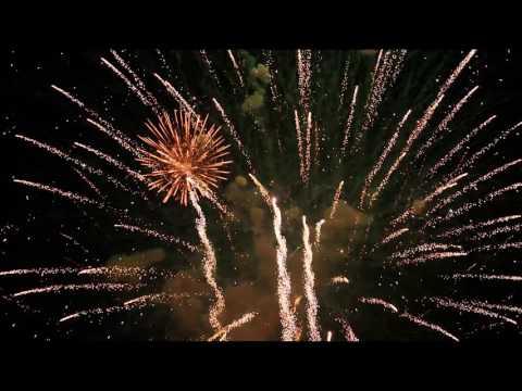 アメリカ独立記念日の花火