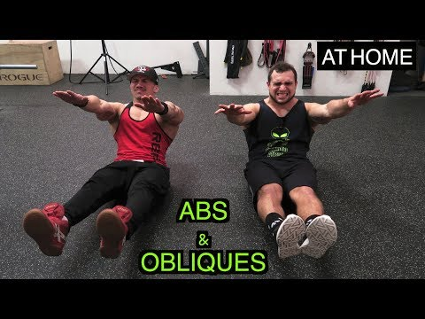 Intense 5 Minute At Home Abs & Obliques Workout