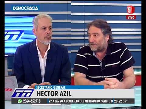 Hector Azil en Telenoticias