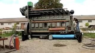 50 ЛИТРОВ !!! ВНУШИТЕЛЬНЫЕ РАЗМЕРЫ ! гигантский двигатель /запуск старого двигателя / old engine