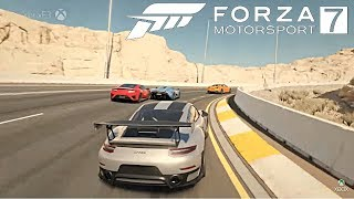 Forza Motorsport 7 NEW GAMEPLAY DETAILS, CONFIRMED CARS, NEW TRACK, DRIFTING, RELEASE DATE!