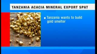 Tanzanian Acacia Mining agrees into a settlement with President John Magufuli