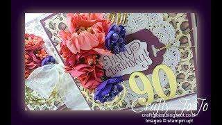 A 90th Birthday Card