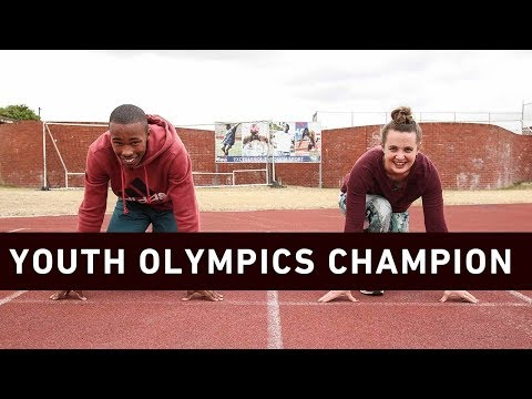 We chat youth Olympics and the future of SA sprinting with Luke Davids