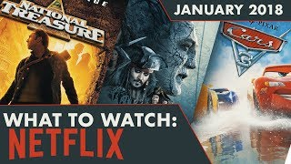 WHAT TO WATCH: Netflix January 2018
