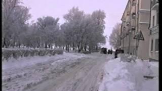 Архангельск зимой 1995 года