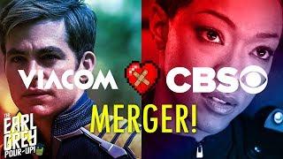 CBS & VIACOM MERGER -  Impact On Star Trek   Isaacs & Frakes Talk Discovery