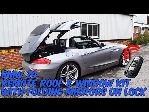 BMW Z4 Remote Roof Open & Folding Mirrors