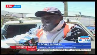 KTN Business Today 19th December 2016- Residents of Eldoret prepare for holiday festivities