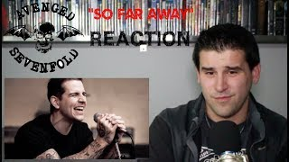 Avenged Sevenfold - So Far Away (Official Music Video) - REACTION
