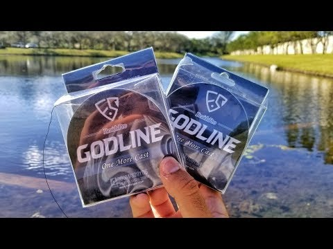 Fishing with AWESOME new GODLINE Braid!