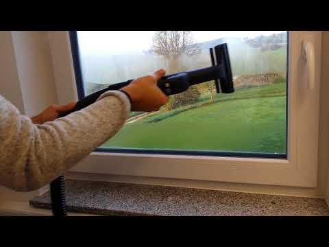 Fenster reinigen Dampfsauger Premium