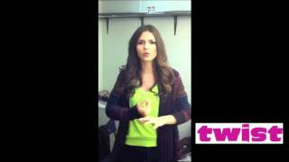Виктория Джастис, Victoria Justice's Message to TWIST Readers!