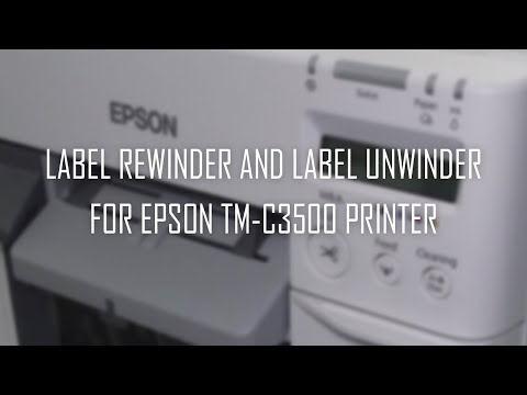 DPR Roll to Roll System for Epson TM-C3500 Colour printer video thumbnail
