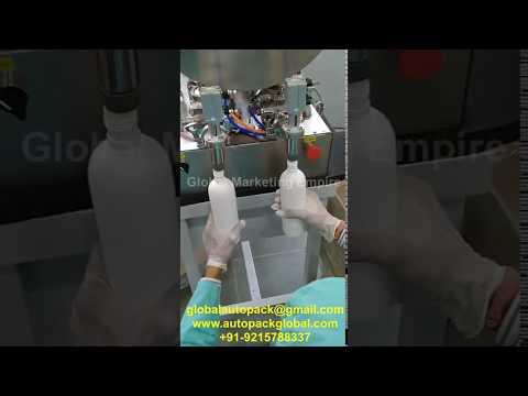 Liquid Filling Machine (Double Head)/Hand Sanitizer Filling Machine/Cream , Paste Filling Machine