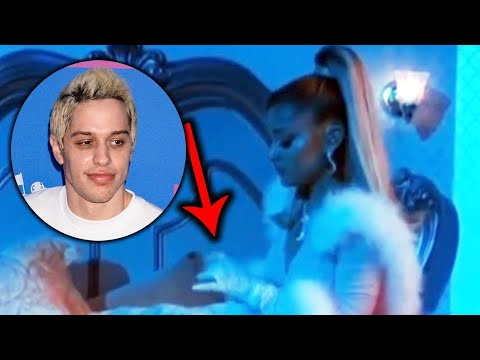 Why Some Think Ariana Grande SHADED Pete Davidson During Her Grammys Performance