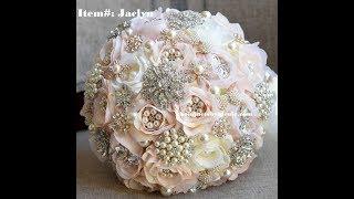 DIY Brooch Bouquet  L JACLYN L Easy Wedding Project