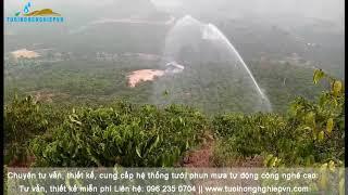 Súng tưới phun mưa Ducar Green 70 - Tưới Nông Nghiệp Vn