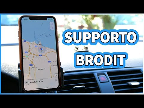 Brodit: i SUPPORTI AUTO per iPhone X