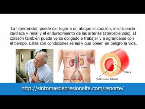 Síntomas de crisis hipertensiva