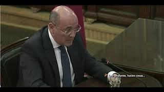 """IMPRESIONANTES Declaraciones De Pérez De Los Cobos Sobre Trapero En El Juicio Del """"PROCES"""""""