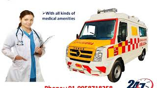 Now Book Ventilator Ambulance Service in Kankarbagh and Bihta by Medilift