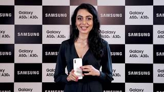 MEGHANA KAUSHIK hosts the launch of Samsung Galaxy A50s